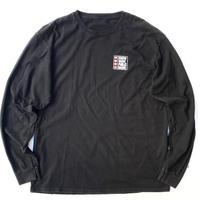 KNOW WAVE PUBLIC RADIO L/s T-shirt size M〜L程