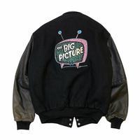 〜90's THE BIG PICTURE VARSITY JACKET size  L〜XL程
