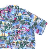 Reyn Spooner Hawaii Shirts Size-XL 100% RAYON ~90s