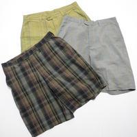 patagonia ORGANIC COTTON 3Colors Shorts w32  Black/Gray/Green