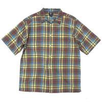 stussy S/s check shirt size XL