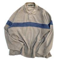 Eddie Bauer Long Sleeve Polo Shirt  size XXL