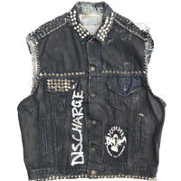 🤘Custom Vest🤘  80s Levi's MADE IN USA Size-M