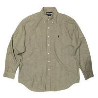 """Polo Ralph Lauren """"BLAIRE"""" B.D Shirt Size-L"""