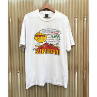 SUPER DAD✊ T-shirt Size-XL程 1999