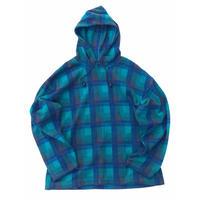 anchor blue  Fleece Hoodie Size-L