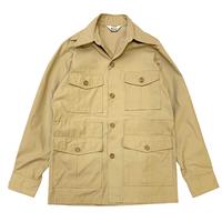 70's Wool Rich Safari Shirt Jacket size S〜M程