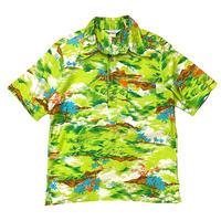 70's JC Penney Pullover Aloha Shirt size M〜L程