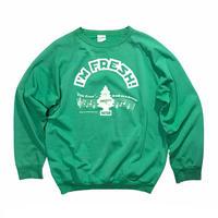 """Little Trees Car-Freshner  """"I'M FRESH!""""🌲 Sweater  Size-L程 80s~"""