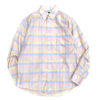 BURBERRY B.D CHECK SHIRT MADE IN USA size L程