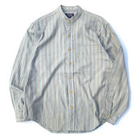 The J.Peterman Company Stand Collar Shirt size S