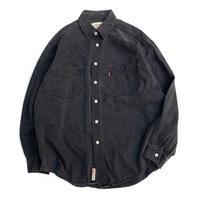 Levi's Black Denim Shirt size L