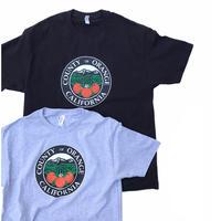 ORANGE COUNTY Tee🍊 New  Gray Size-L Black Size-XL