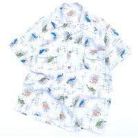 vintage  fish shirt M程