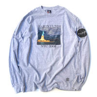 BARON FUNDS L/S T-SHIRT size M程