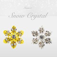 12月25日発売☆KiraNail 雪の結晶 ルノア ゴールド/シルバー