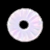 KiraNail GIZAMARUオーロラホワイト3mm
