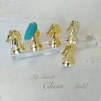 4月1日発売☆KiraNail チップスタンド CHESS  ゴールド/シルバー/ピンクゴールド