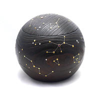 まんまる夏火鉢 夜空の星