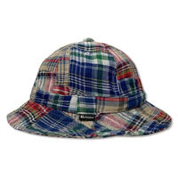 Skate Bell Hat    <Red Plaid Patchwork>