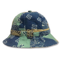 Pasiley Skate Bell Hat    <Paisley Patchwork>
