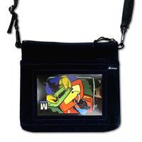 Lenticular Bag  <Black Suede>