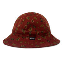 Pasiley Skate Bell Hat    <Red Corduroy>