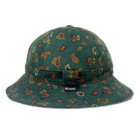 Pasiley Skate Bell Hat    <Green Corduroy >
