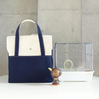 MigratoryBag 【MH】Natural×Navy