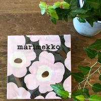 marimekko ランチナプキン Unikko (ウニッコ) col.73 ローズ
