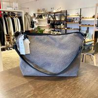 TAMPICO (タンピコ) POCHETTE BANDOULIERE XL cotton stone wash col.SILEX