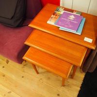 北欧家具talo ヴィンテージ デンマーク製 ネストテーブル