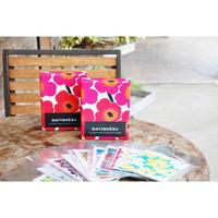 marimekko カード&封筒セット Unikko (ウニッコ)