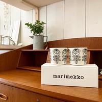 【日本限定】marimekko Vihkiruusu コーヒーカップセット