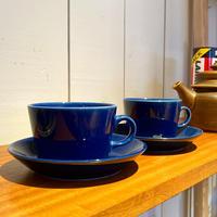 ヴィンテージARABIA Kilta(キルタ) コーヒーカップ&ソーサー (傷多め)