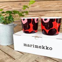 marimekko コーヒーカップセット Unikko (ウニッコ) col.76 RD×PPL