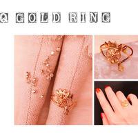 Q GOLD RING