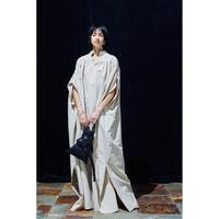 POSTELEGANT  / WASHI Paper Silk DRESS