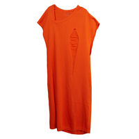 knit dress (orange)