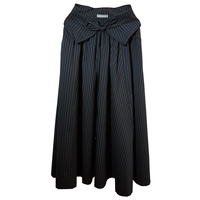 back less skirt (navy)