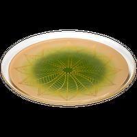 葉輪(hawa)プレート L 白緑