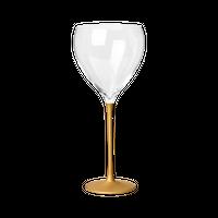 たおやか ワイングラス type C こがね