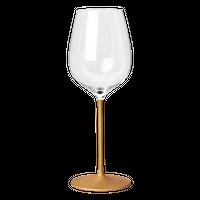 たおやか ワイングラスtypeA こがね