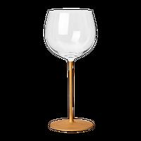 たおやか ワイングラス type B こがね