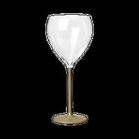 たおやか ワイングラス type C すず