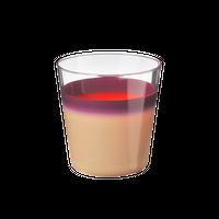 袷(awase)タンブラーM 白紫