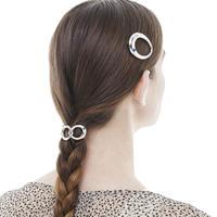 Poterie hair tie / silver