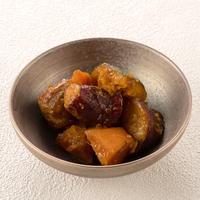 野菜と鶏団子の黒酢和え