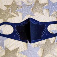 オリジナルプリントマスク【煌めきの星】