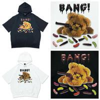 【WRouge】SNIPER BEAR 半袖BIG パーカー(22011141010)